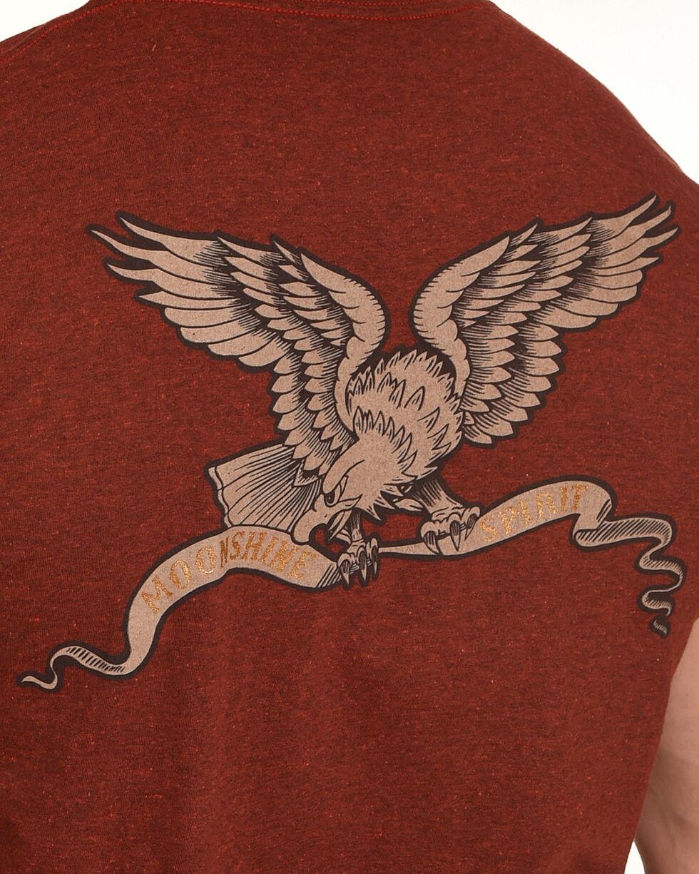 Moonshine Spirit Men's Freedom T-Shirt, Red, hi-res