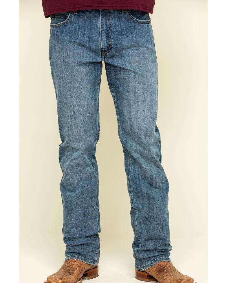 Wrangler 20X Men's Overcast Active Flex Competition Stretch Slim Jeans , Blue, hi-res