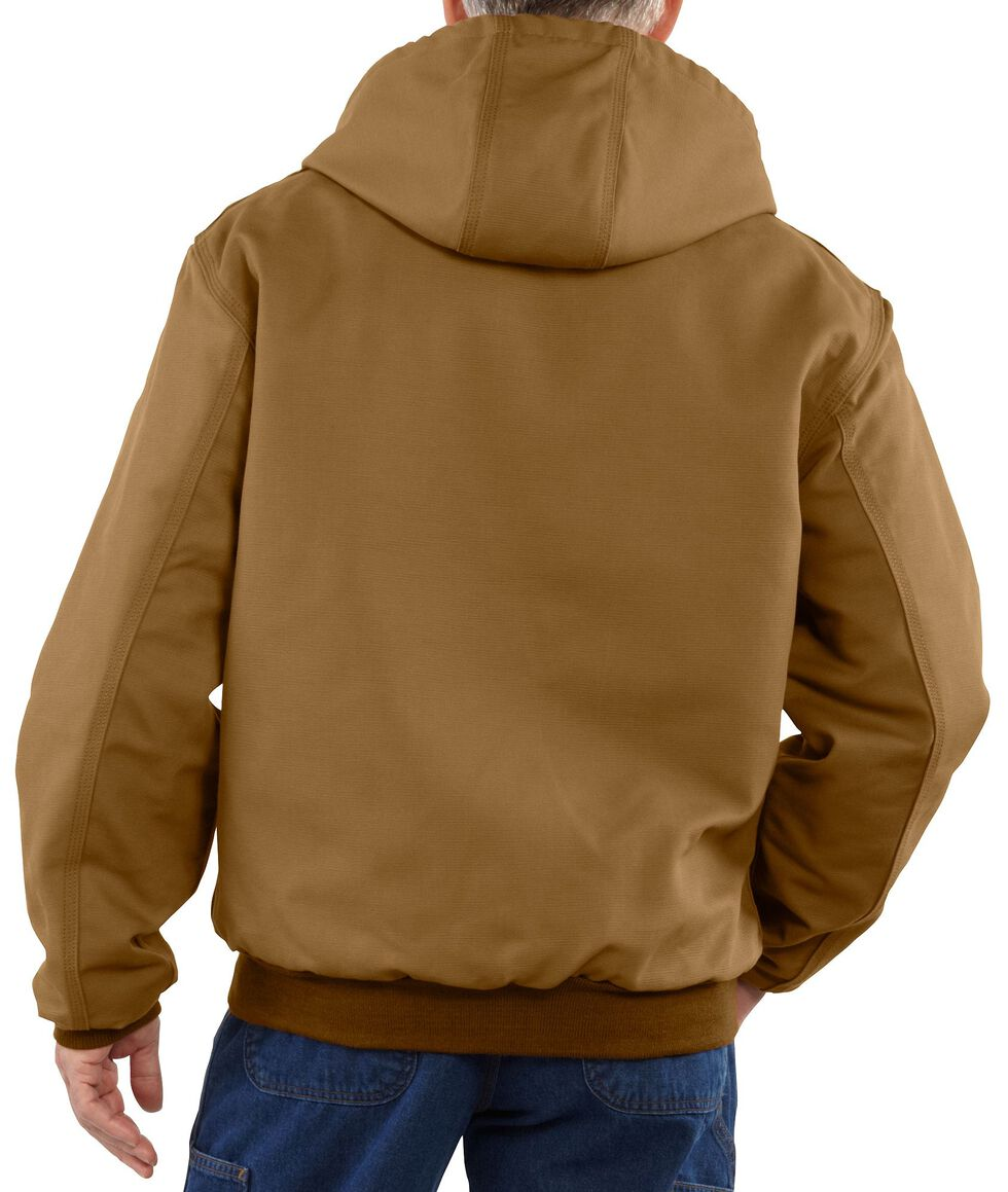 Carhartt Flame Resistant Midweight Active Jacket, Brown, hi-res
