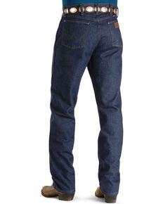 """Wrangler Jeans - 47MWZ Original Fit Prewashed - 44"""" to 50"""" Waist, Indigo, hi-res"""