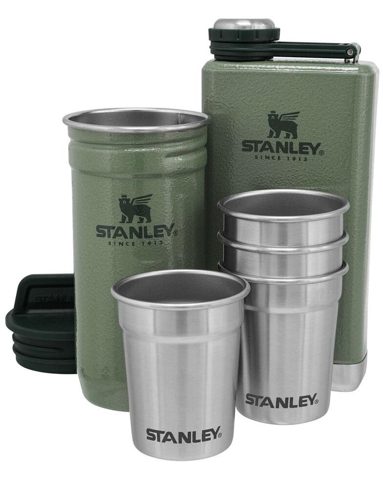 Stanley Green Adventure Shot Glass & Flask Set, Green, hi-res