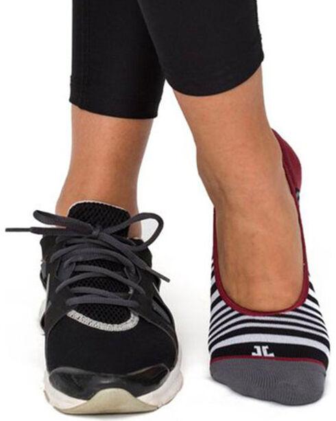 Bootights Women's Low Ankle Socks, Black, hi-res