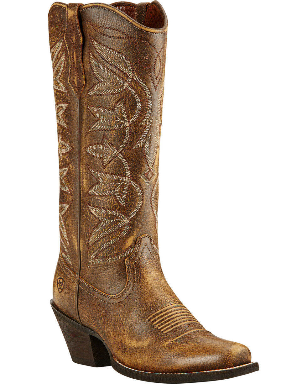 Ariat Vintage Bomber Sheridan Cowgirl Boots - Square Toe, Bomber, hi-res