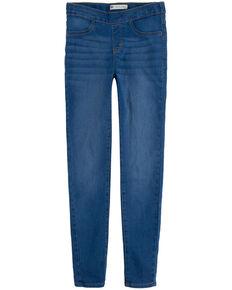 Levi's Girls' Sweetwater Medium Wash Pull-On Denim Leggings , Blue, hi-res