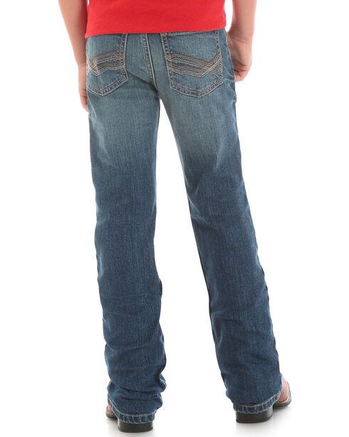 Wrangler Boys' (8-18) Indigo Retro Mae Vintage Boot Cut Jeans - Husky , Indigo, hi-res