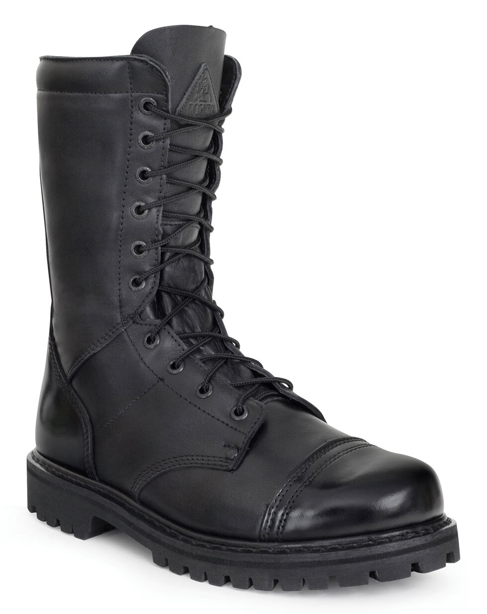 Rocky Waterproof Zipper Jump Boots - Round Toe, Black, hi-res