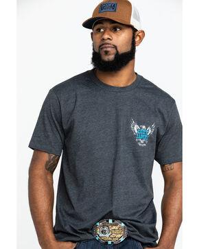 Cody James Men's Logo Thunderbird Graphic T-Shirt , Charcoal, hi-res