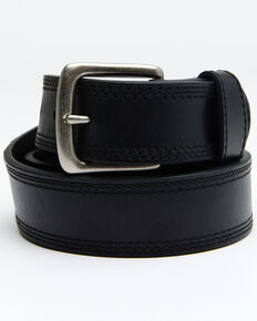 Hawx Men's Apache Triple Stitch Work Belt, Black, hi-res