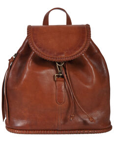 Scully Women's Leather Backpack, Tan, hi-res