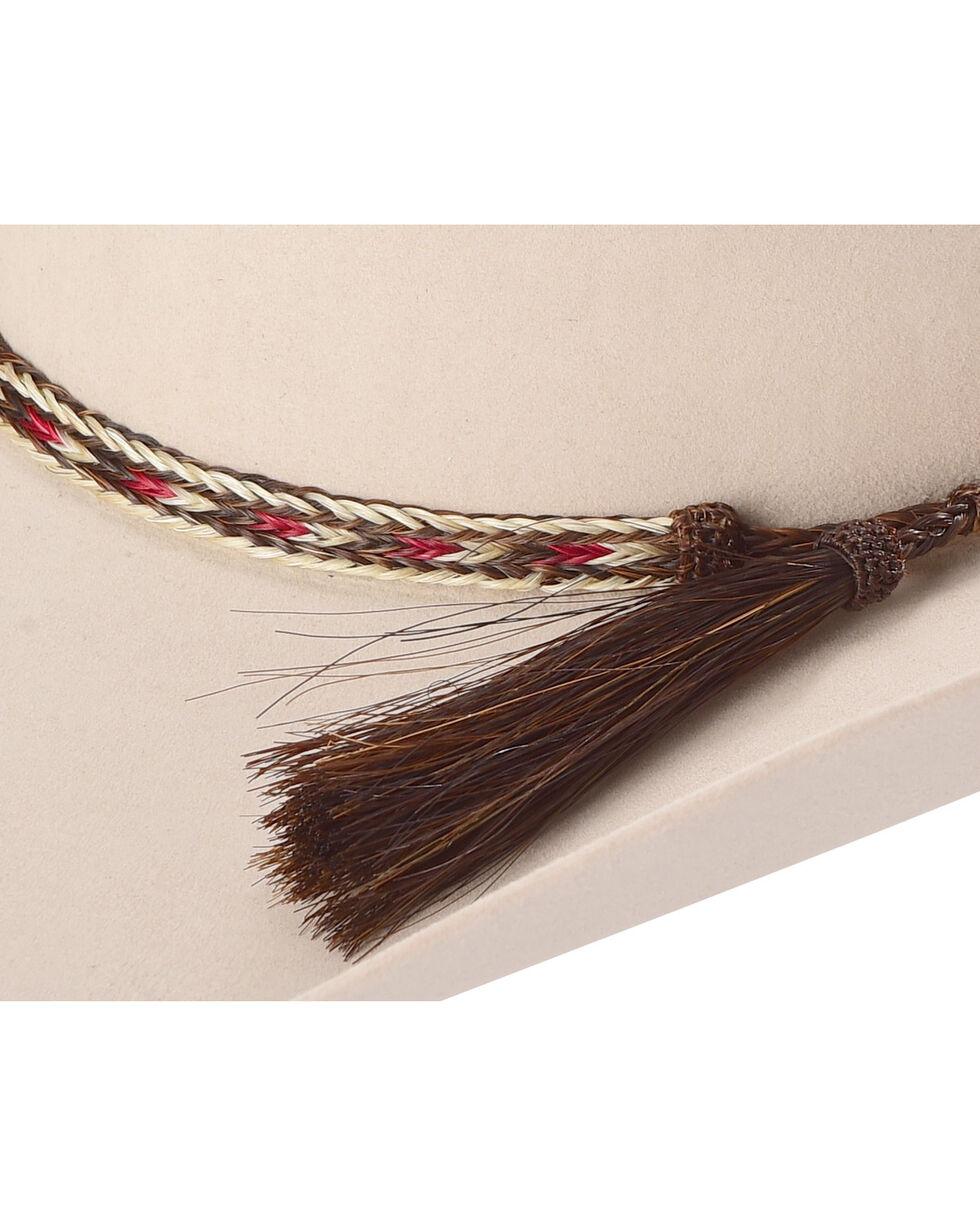 Cody James Braided Horsehair Hat Band, Brown, hi-res