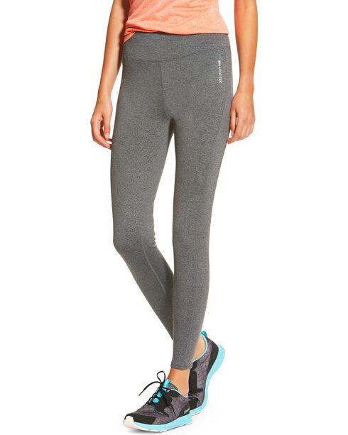 Ariat Women's Charcoal Circuit Leggings , Charcoal, hi-res