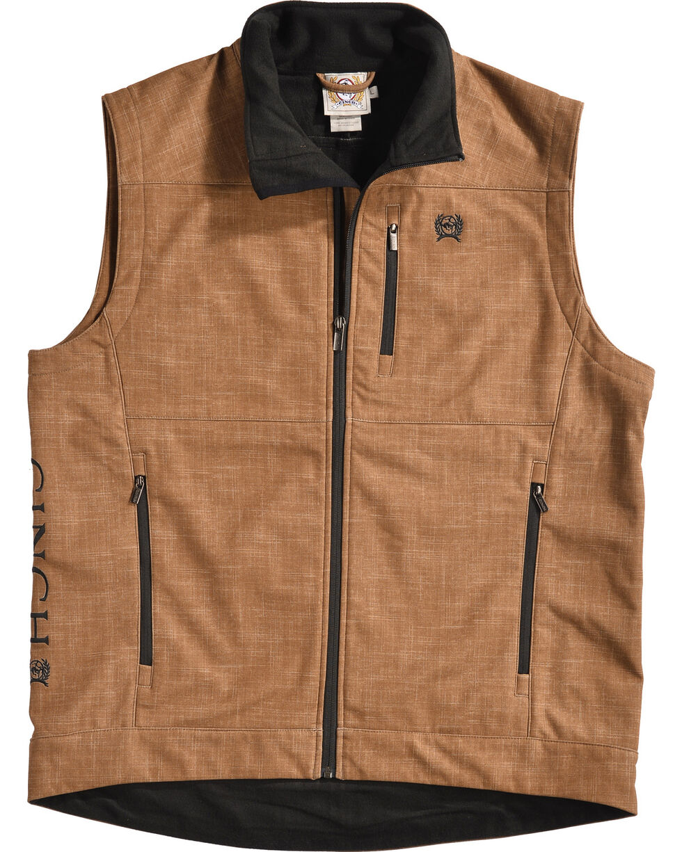 Cinch Men's Embroidered Logo Bonded Vest, , hi-res