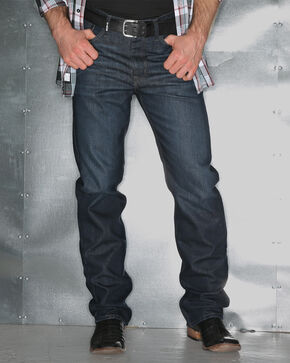Garth Brooks Sevens by Cinch Easy Fit Bootcut Jeans, Indigo, hi-res