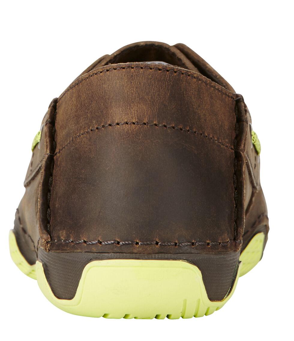 Ariat Women's Brown Caldwell Cross Boat Shoes , , hi-res