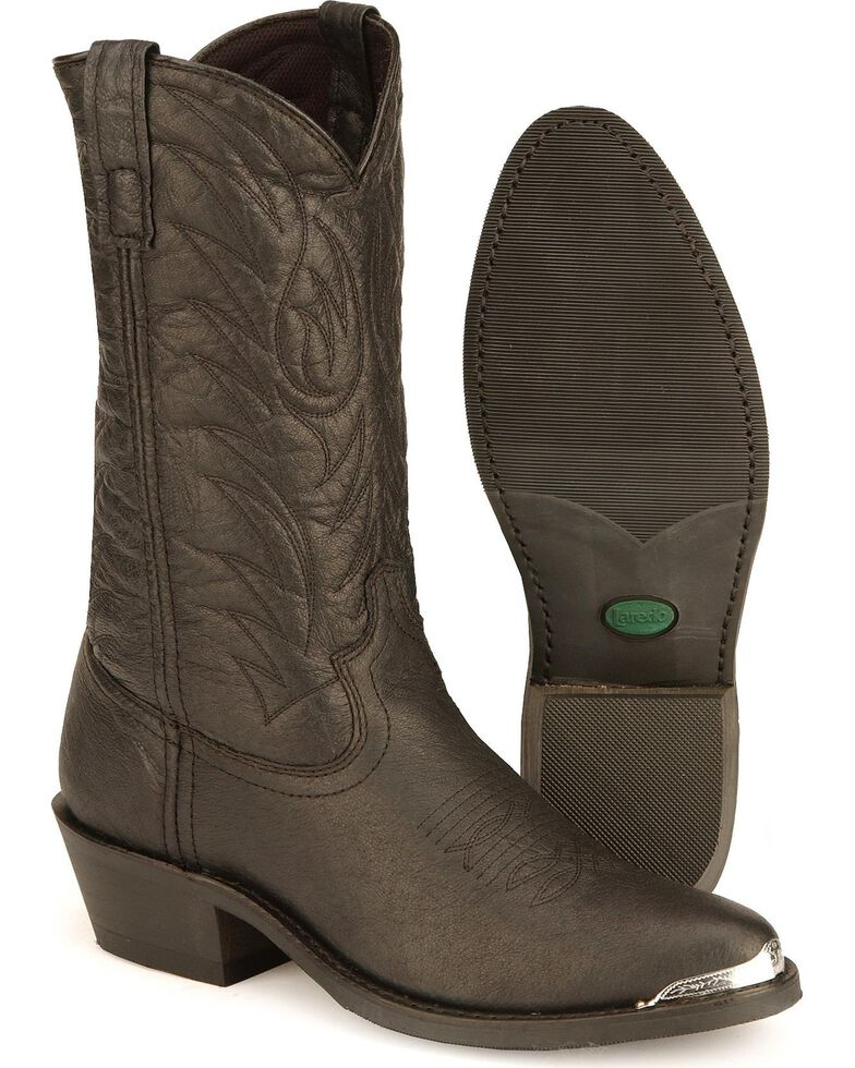 Laredo Men's East Bound Cowboy Boots - Medium Toe, Black, hi-res