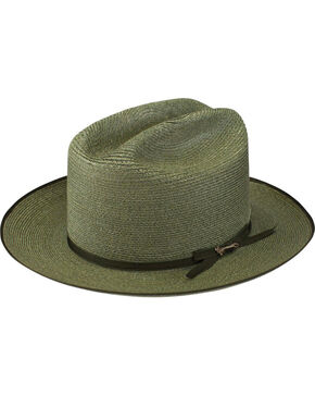 Stetson Men's Sage Hemp Open Road Hat, Sage, hi-res