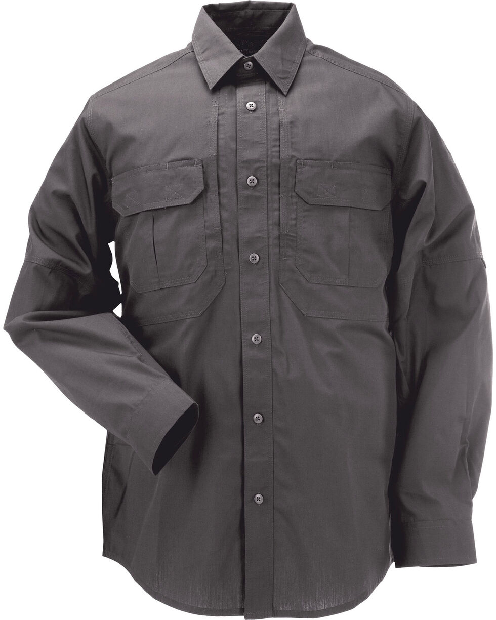 5.11 Tactical Taclite Pro Long Sleeve Shirt - Tall Sizes (2XT and 5XT), Charcoal Grey, hi-res