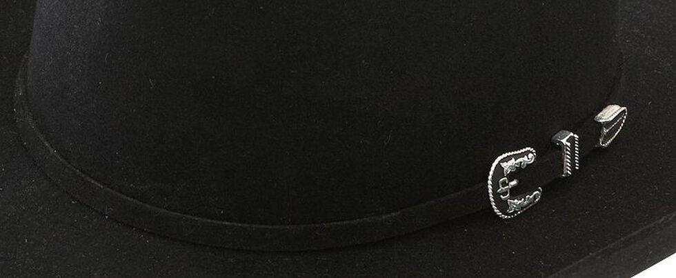 Stetson 6X Skyline Black Fur Felt Cowboy Hat, Black, hi-res