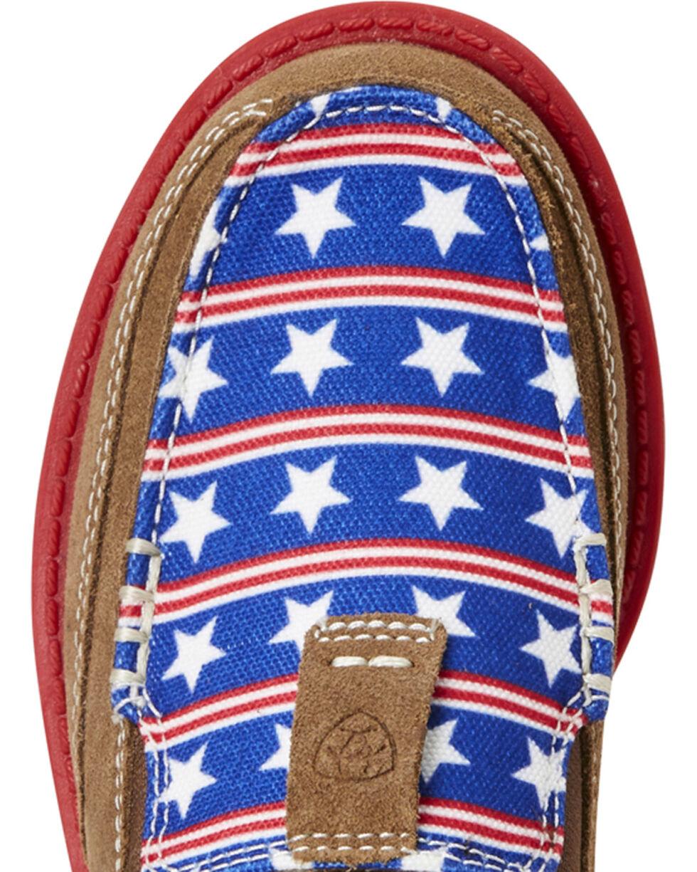 Ariat Kids Cruiser Tan Suede Stars /& Stripes Shoes 10021593 US Girls Boys 3