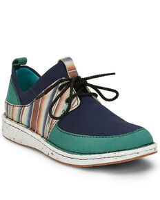 Justin Women's Vista Blue Shoes, Blue, hi-res
