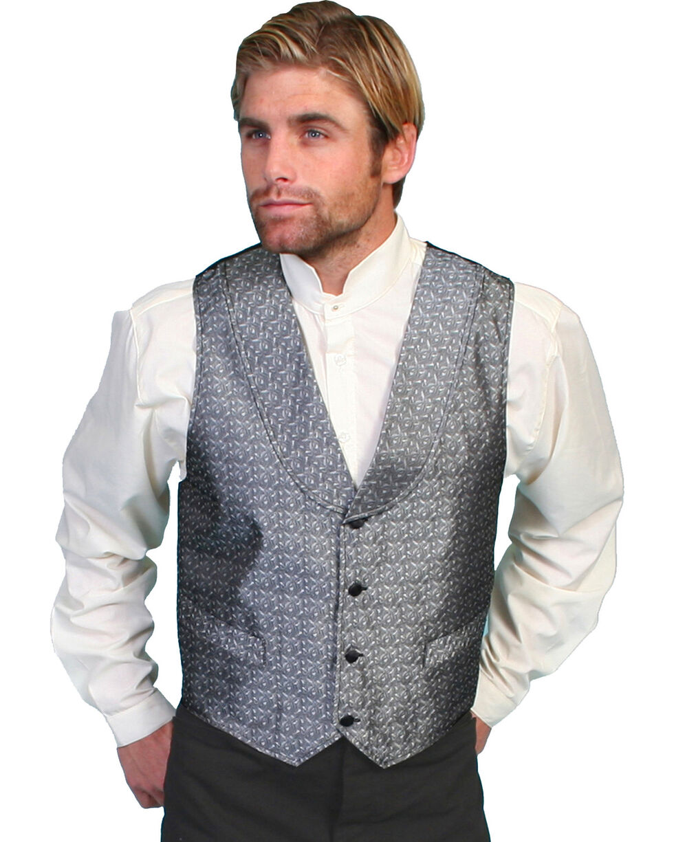 Rangewear by Scully Silver Spring Vest, Silver, hi-res