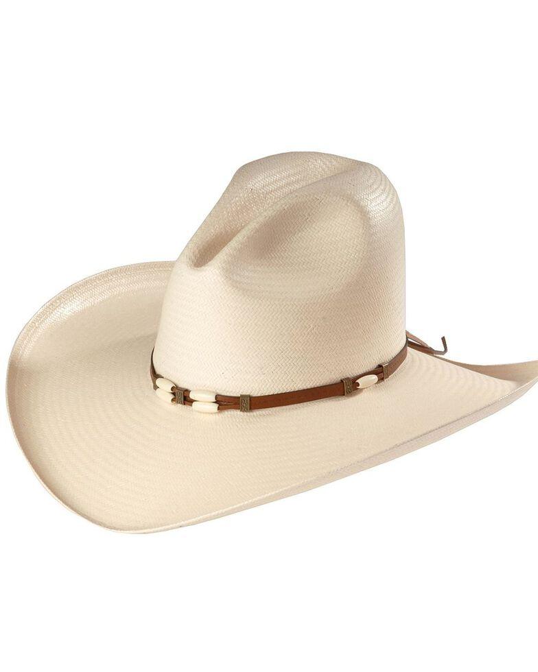 Resistol 6X Cisco Straw Cowboy Hat, Natural, hi-res