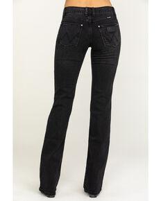Wrangler Retro Women's Black Mae Bootcut Jeans , Blue, hi-res