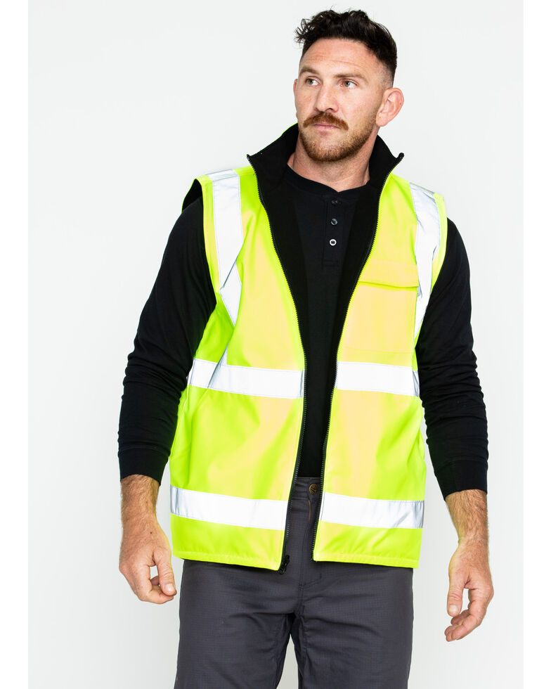 Hawx® Men s Reversible Reflective Work Vest - Big and Tall  b61669a4c
