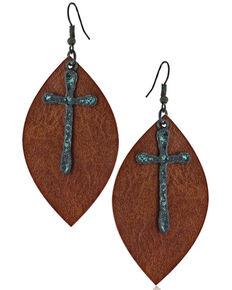 Montana Silversmiths Women's Autumn's Swift Revelations Earrings, No Color, hi-res