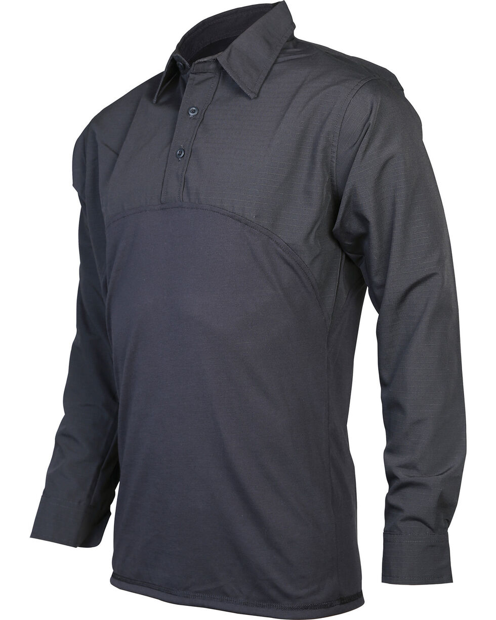 Tru-Spec Men's Tru Defender Long Sleeve Shirt - Tall, Black, hi-res