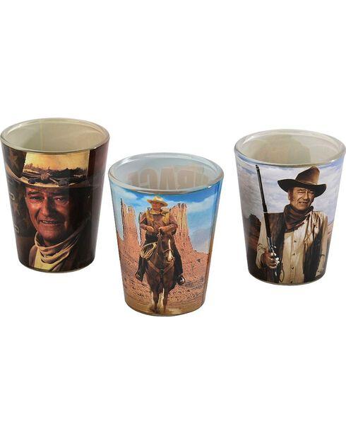 John Wayne Shot Glasses - Set of 3, Multi, hi-res