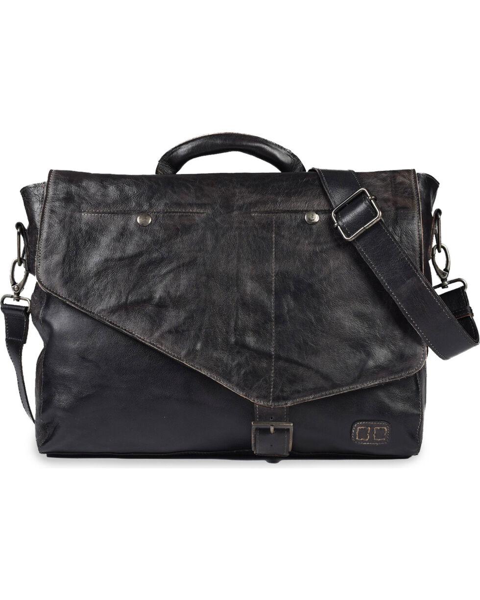 Bed Stu Men's Paulo Black Rustic Messenger Bag, Black, hi-res