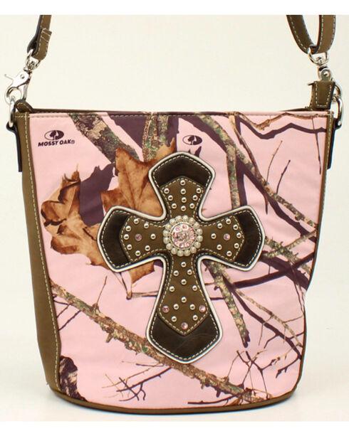 Blazin Roxx Camo Concealed Carry Cross Shoulder Bag, , hi-res