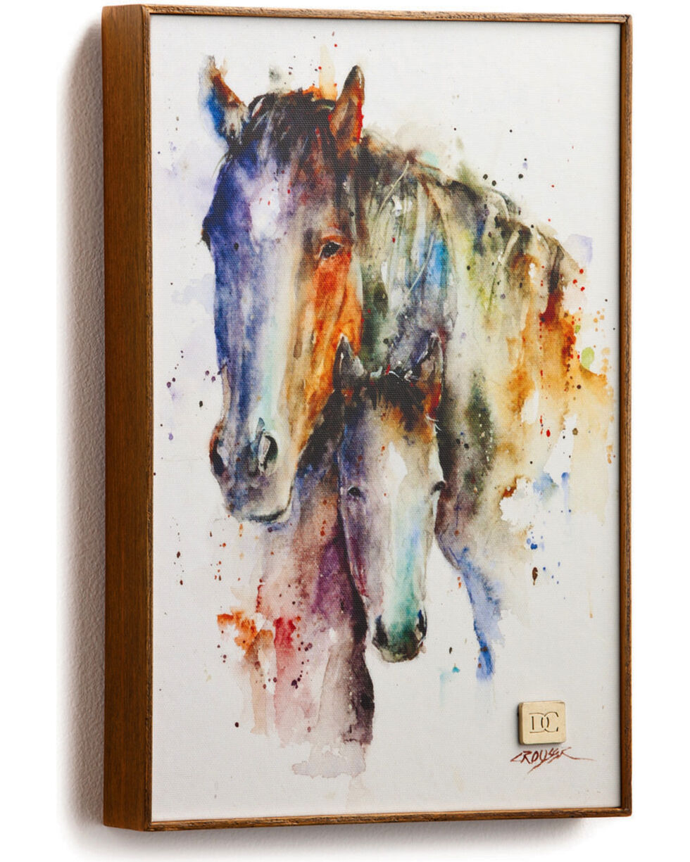 Big Sky Carvers A Mother's Love Mare & Foal Wall Art, No Color, hi-res