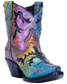 Dan Post Women's Multi Galaxy Western Boots - Snip Toe, Multi, hi-res