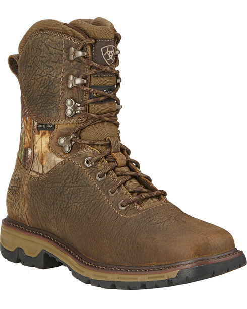 Ariat Men's Conquest H2O Waterproof 400g Insulated Hunting Boots, , hi-res
