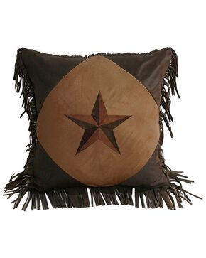 HiEnd Accents Fringe Star Pillow, Multi, hi-res