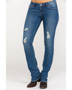 Idyllwind Women's Let It Rip Skinny Jeans , Blue, hi-res