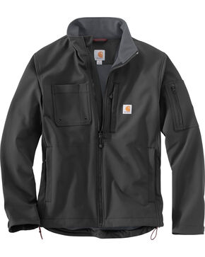 Carhartt Men's Roughcut Jacket, Black, hi-res