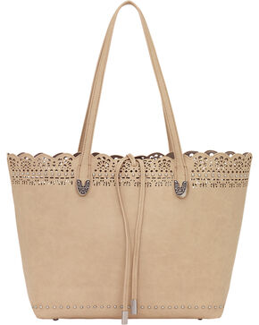 Bandana by American West Darlington Collection Day Tote, Cream, hi-res
