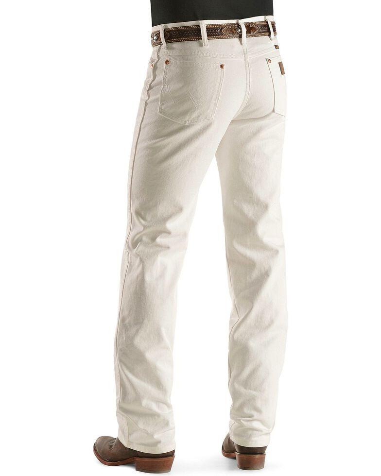 Wrangler 936 Cowboy Cut Slim Fit Jeans - Prewashed Colors, White, hi-res
