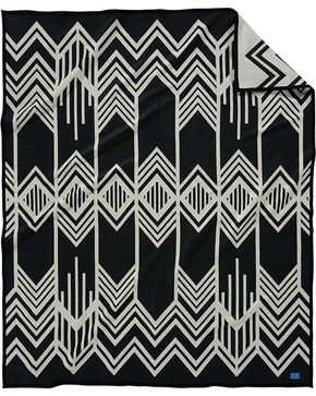 Pendleton Skywalkers Blanket , Black, hi-res