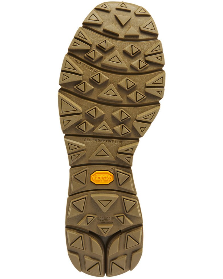 Danner Men's FullBore Coyote Work Boots - Soft Toe, Coyote, hi-res