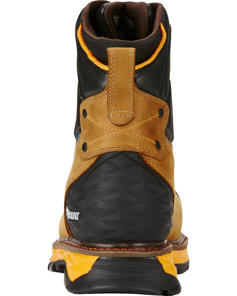 "Ariat Men's Aged Bark Catalyst VX Work 8"" H2O Boots - Composite Toe , Aged Bark, hi-res"