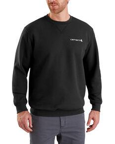Carhartt Men's Midweight Graphic Crewneck Sweatshirt - Big , Black, hi-res