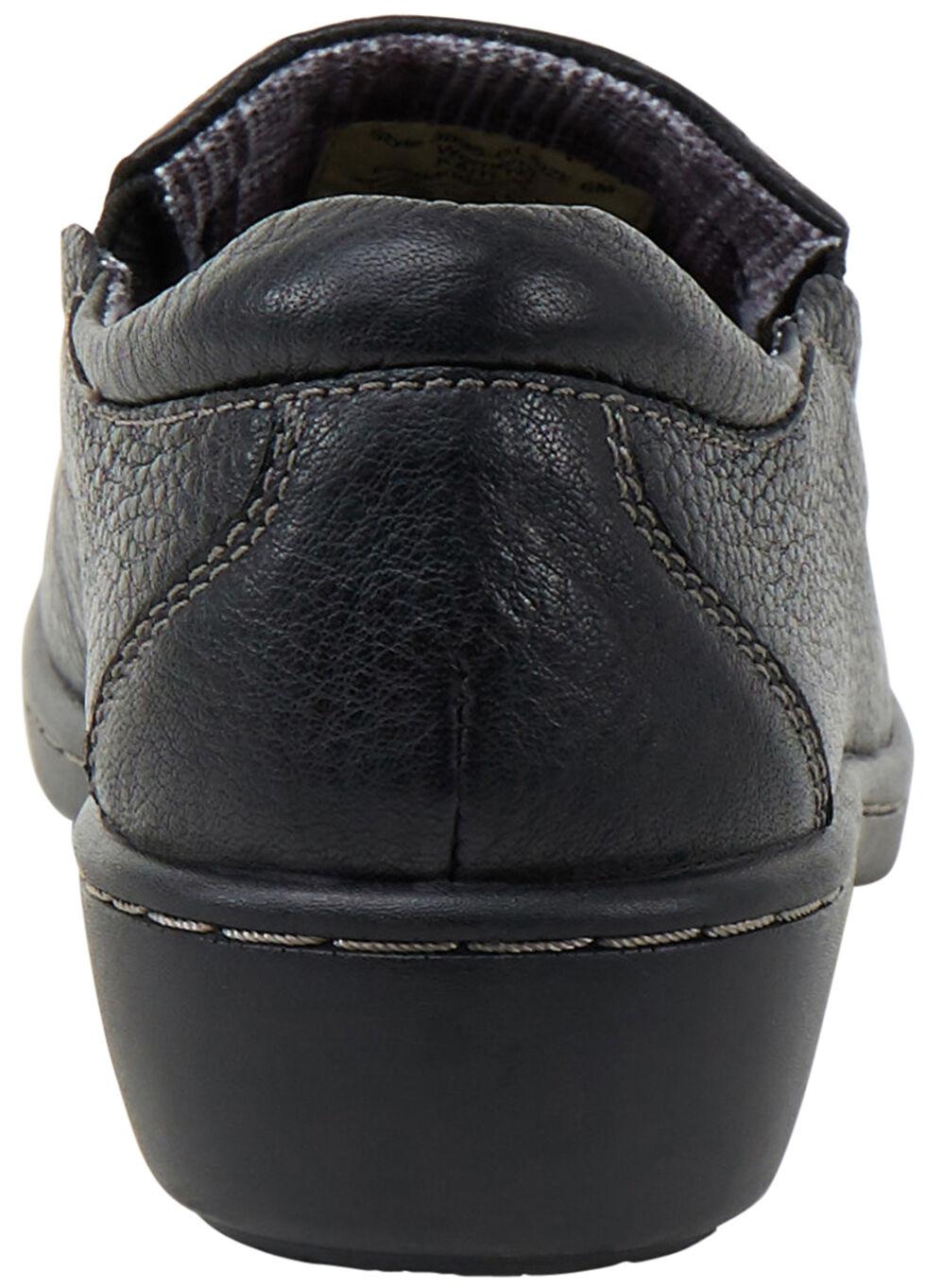 Eastland Women's Black Kaitlyn Slip-Ons, Black, hi-res