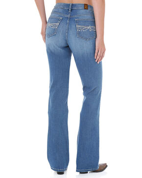 Aura by Wrangler Women's Instantly Slimming Jeans, Light/pastel Blue, hi-res