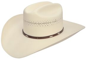 Stetson Deming 10X Shantung Straw Cowboy Hat, Natural, hi-res