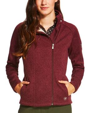 Ariat Women's Regency Full Zip Jacket, Purple, hi-res