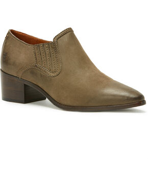 Frye Women's Eleanor Western Shooties - Pointed Toe, Grey, hi-res